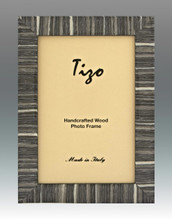 Tizo Gray Striped Wood Picture Frame 4 x 6 Inch MPN: 285GRY-46, MPN: 285GRY-46