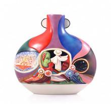 Franz Porcelain Vase Pilgrimage MPN: FZ03551 UPC: 817714015233