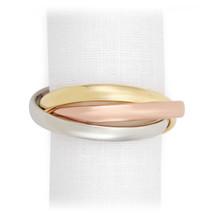 L'Objet Three-Ring Napkin Rings Tri-Color Napkin Rings MPN: NJ1004
