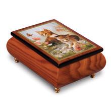 Artist Brenda Burke Kitten Frolic Music Box, MPN: GM15103, UPC: 802192951194