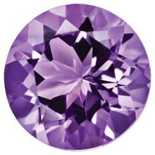 Amethyst 2mm Round Gemstone, MPN: AM-0200-RDF-AA