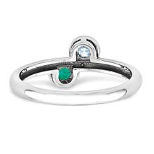 14K White Gold Genuine Ring Family WM1441-2GY