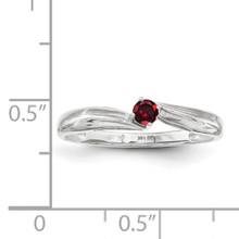 14K White Gold Genuine Ring Family & Mother XMR10/1WGY