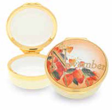 Halcyon Days November Enamel Box, MPN: ENMNO0501G