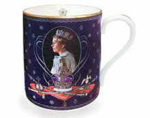 Halcyon Days 65th Anniversary of the Coronation Mug, MPN: BCAOC11MGG