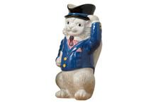 Mottahedeh Cat Pitcher, MPN: MS8907.