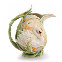 Franz Porcelain Swan Pitcher, MPN: FZ01570, UPC: 837009009976