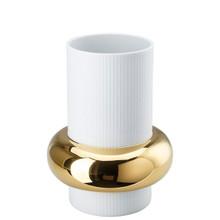 Rosenthal Ode Gold Vase 10 Inch 14476-426270-26025, MPN: 14476-426270-26025, UPC: 790955051669