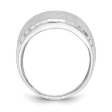 Size 7 Radiant Essence Ring Sterling Silver Rhodium Plated QLR114-7