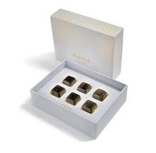 Anna by Rablabs Vida Whisky Gems Smoky Quartz Set of 6, MPN: WG-005 UPC: 810345027330