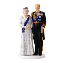 Royal Doulton Queen Elizabeth'S Platinum Wedding Anniversary 9.6 Inch Ltd 1000 MPN: 40022934 UPC: 701587307567