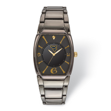 West Virginia University Executive Black-plated Watch MPN: WVU168 UPC: 634401357205