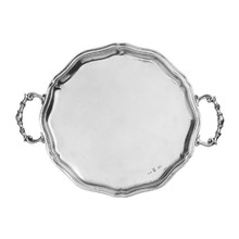 Arte Italica Vintage Scalloped Tray with Handles MPN: VIN3630, UPC: 814639000658