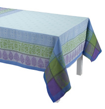 Le Jacquard Francais Sari Blue Tablecloth 69x126 , MPN: 25437, UPC: 3660269254377