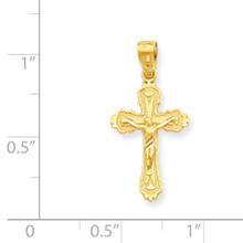 Crucifix Pendant 10k Gold 10C1069