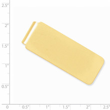 Money Clip 14k Gold MC99A