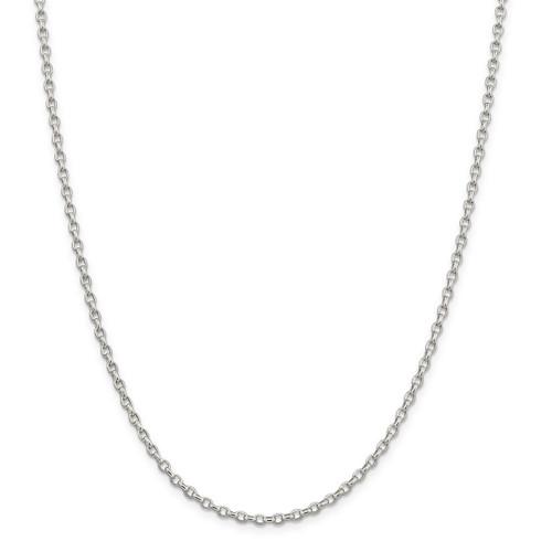 Jewelry Best Seller Leslies Sterling Silver Twist Hoop Necklace w//2in ext