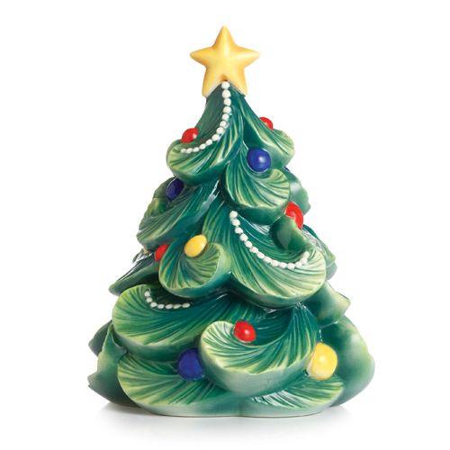 Franz Porcelain Holiday Greetings Christmas Tree Figurine Fz02468 Upc 810524017602 Homebello