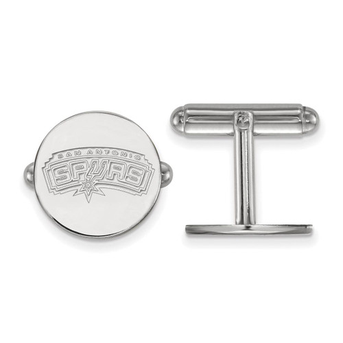 San Antonio Spurs Cuff Link Sterling Silver Ss008spu Nba