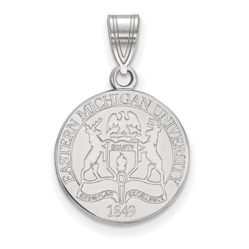 Womens Silver Pendant Necklaces Love Heart Pendant Round White Cubic Zirconia 17.7 Adisaer