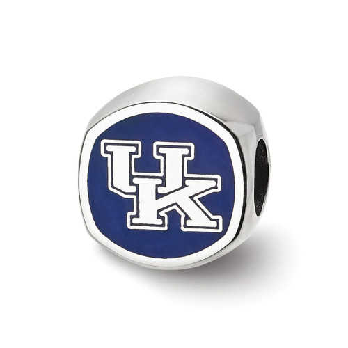The University Of Kentucky Uk Cushion Shaped Double Logo