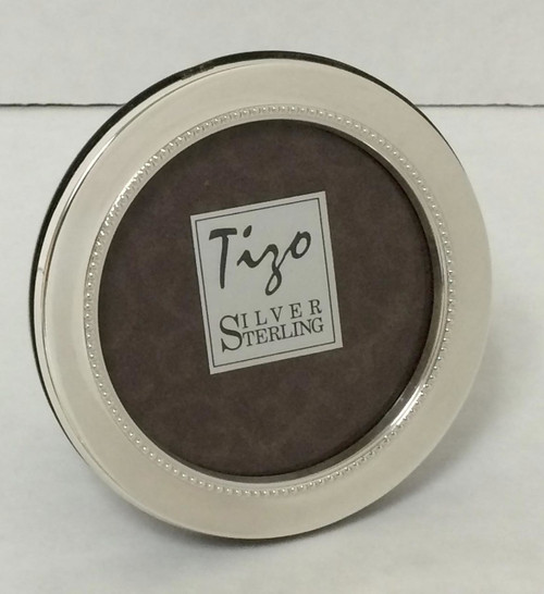 Tizo Inner Beads Sterling Silver Picture Frame 2 5 Round