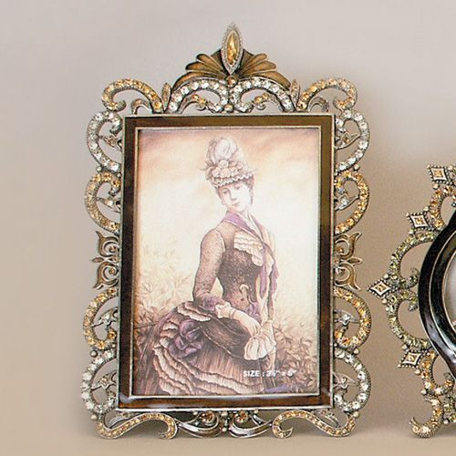 Tizo Enamel Jeweled Picture Frame 35 X 5 Inch Rs134tp35 Homebello
