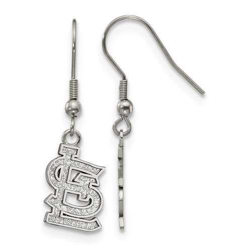 MLB St. Louis Cardinals Dangle Earrings Stainless Steel