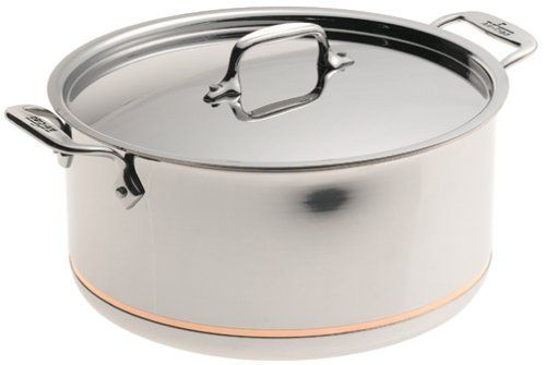 All Clad Copper Core 8 Qt Stockpot With Lid