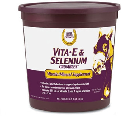 Vita-E & Selenium Crumbles