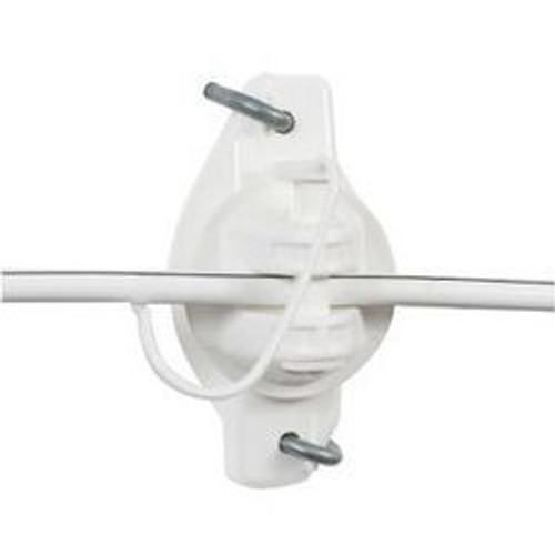 Wood Post Wide Jaw Pinlock Insulator