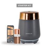 Grey/Copper Luna Starter Kit with Sandalwood & Patchouli Fragrance Oil