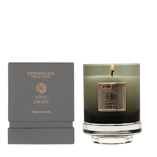 Metallique Collection - Rose Ambre - Scented Candle