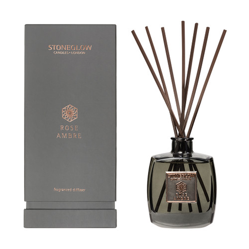 Metallique Collection Rose Ambre Reed Diffuser