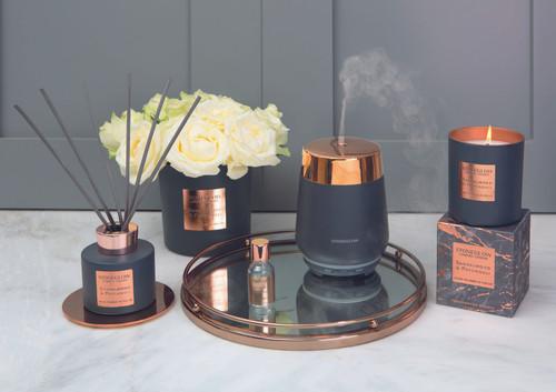 Luna - Sandalwood & Patchouli -  Scented Candle - Boxed Tumbler
