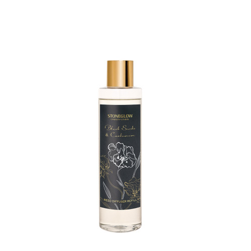 Night Flower Black Suede & Cardamom Diffuser Refill