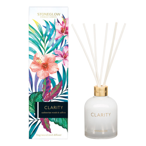 Infuison Clarity - Cashmerian Woods & Saffron - Reed Diffuser