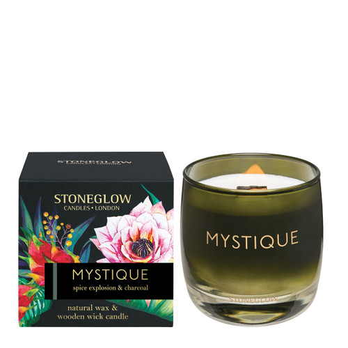 Stoneglow Candles - Infusion Mystique Spice Explosion & Charcoal Tumbler
