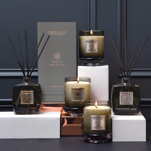 Metallique Collection - Whisky et Chene - Scented Candle