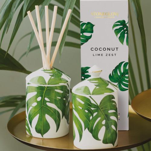 Urban Botanics - Ceramic - Coconut | Lime Zest - Scented Candle