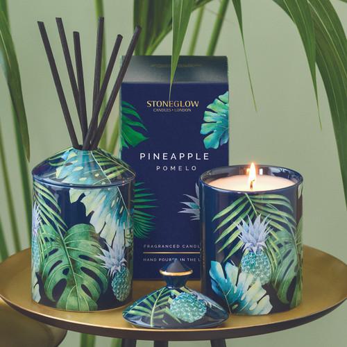 Urban Botanics - Ceramic - Pineapple | Pomelo - Scented Candle