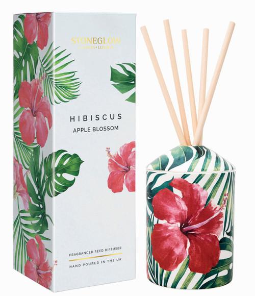 Stoneglow Candles - Urban Botanics Hibiscus Apple Blossom Diffuser