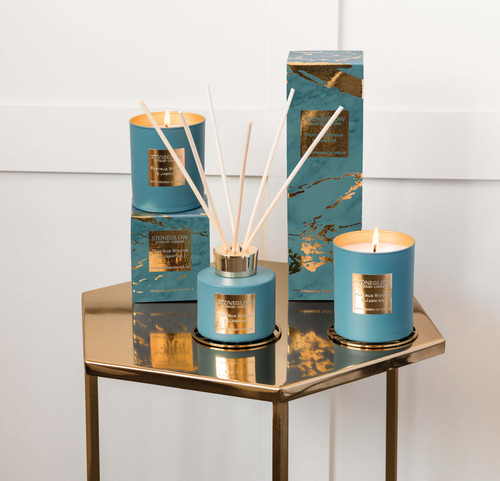 Luna - Papyrus Woods & Jasmine - Scented Candle - Boxed Tumbler