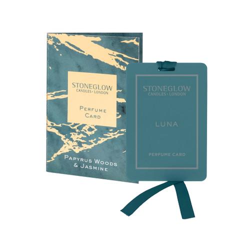 Luna - Papyrus Woods & Jasmine - Perfume Card