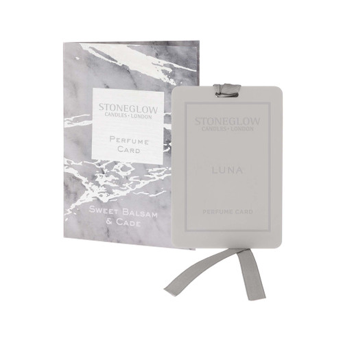 Luna - Sweet Balsam & Cade - Perfume Card