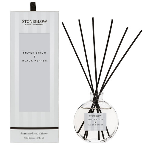 Modern Classics NEW - Silver Birch & Black Pepper Diffuser