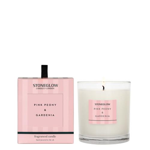 Stoneglow Candles - Modern Classics Pink Peony & Gardenia Tumbler