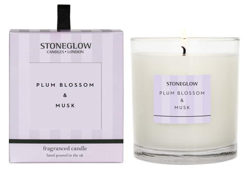 Modern Classics - Plum Blossom & Musk - Scented Candle - Boxed Tumbler