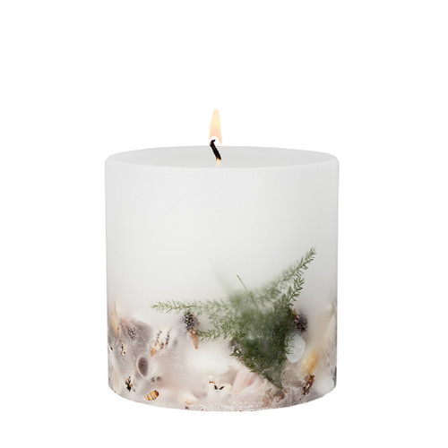 Nature's Gift - Ocean - Scented Candle - Inclusion Pillar