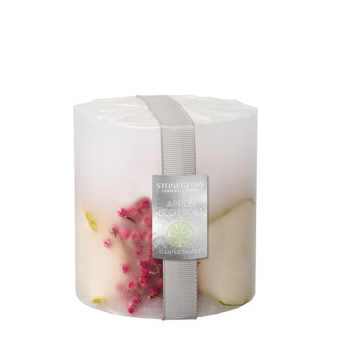 Nature's Gift Apple Blossom Pillar Candle